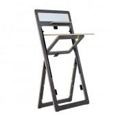 kaleido brace Steh-Sitz Tisch