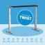 Twist Motor-Tischgestell